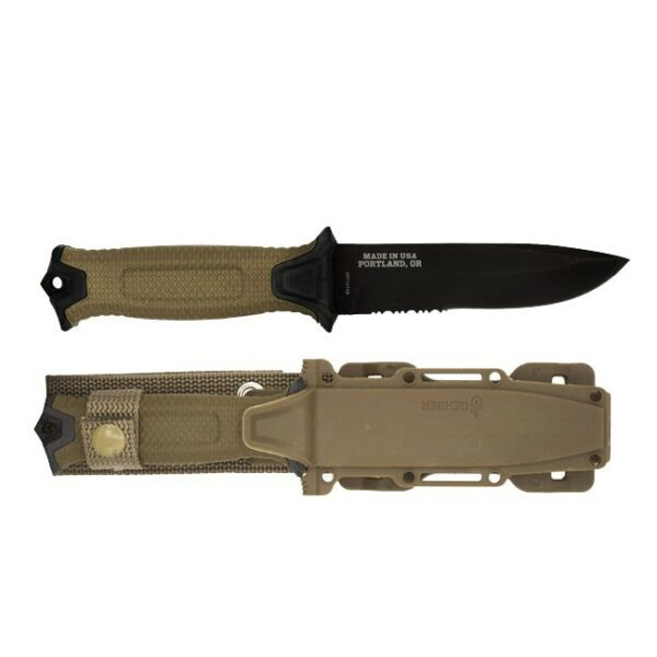 _GERBER STRONGARM TACTICAL KNIFE – NIB – NOS – SURVIVAL – HUNT – CAMP – BUSHCRAFT